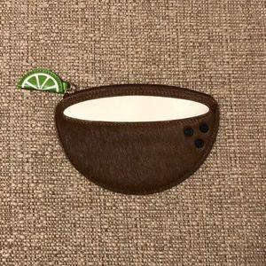 Kate Spade coconut coin purse